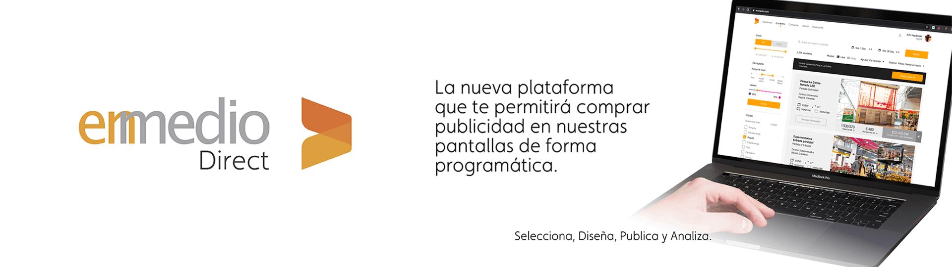 Enmedio Direct - La plataforma innovadora de publicidad para OOH 1